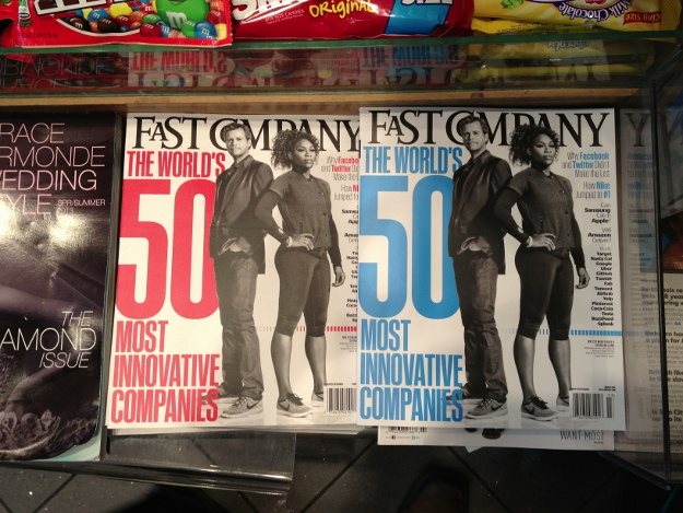 Fast Company Split Test Magazine Covers