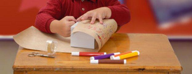 A young entrepreneurs handmade gift