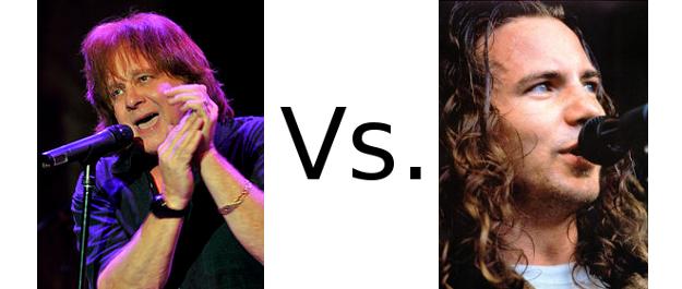 Eddie Money versus Eddie Vedder
