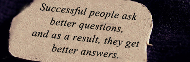 Ask better questions to get better answers