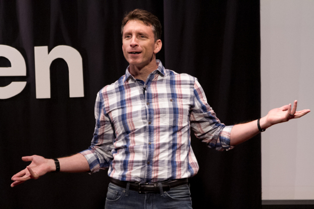 Mike Michalowicz Presenting at TEDx