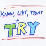 Know, Like, Trust & Try