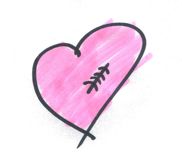 A mended heart