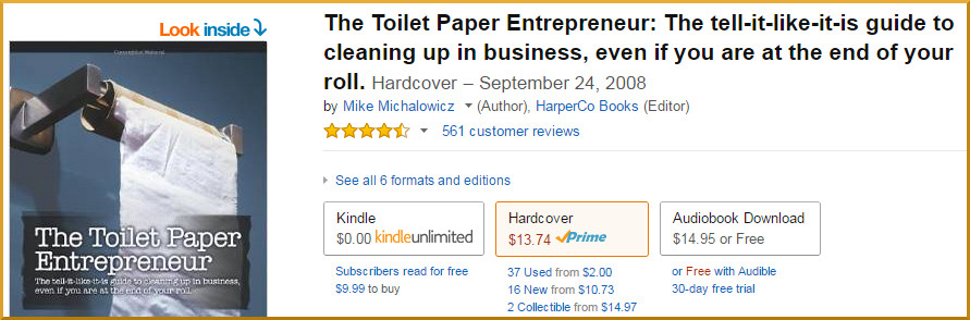 The Toilet Paper Entrepreneur Reviews